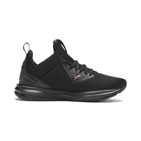 PUMA JUNIOR ENZO BETA SHINE BLACK CORAL SNEAKERS