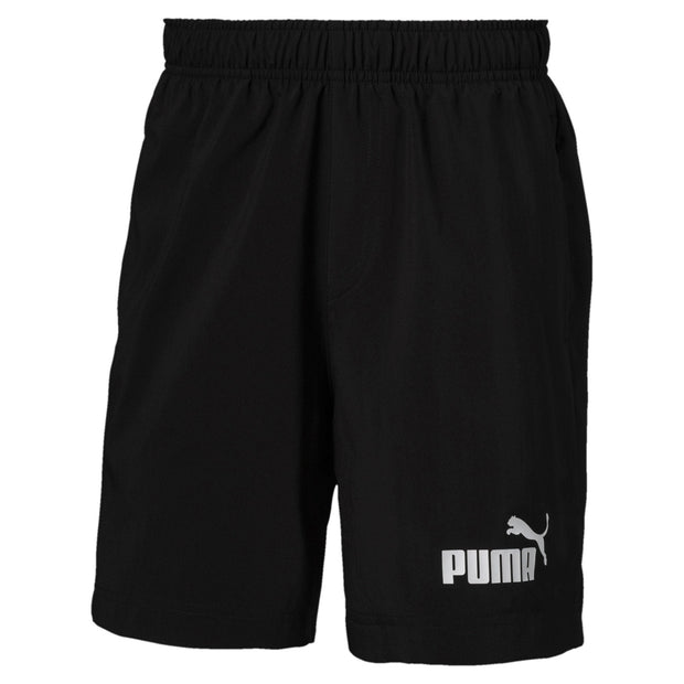 "PUMA KID'S ESSENTIAL 5"" WOVEN BLACK SHORT"