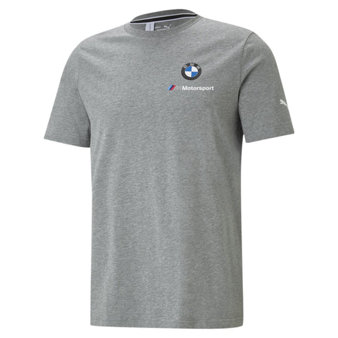 PUMA MEN'S BMW GREY LOGO TEE