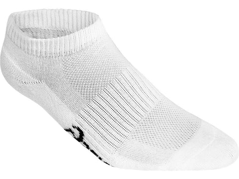 ASICS UNISEX PACE LOW SOLID WHITE SOCK (1 QUANTITY)