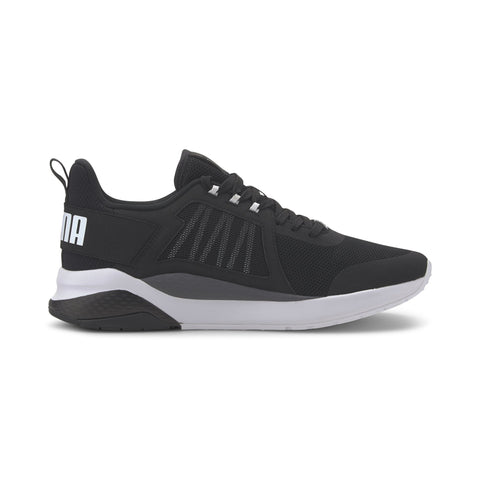 PUMA MEN'S ANZARUN BLACK/WHITE TRAINER SHOES