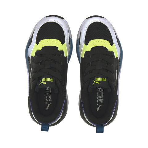 PUMA TODDLER'S X-RAY 2 SQUARE BLACK/WHITE SHOES