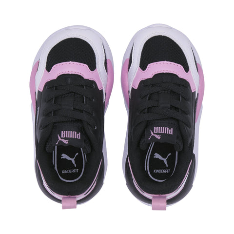 PUMA INFANT'S X-RAY BLACK PINK SHOES