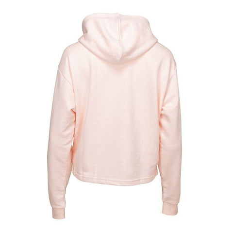 PUMA WOMEN'S AMPLIFIED CROPPED TRAINING PINK HOODIE
