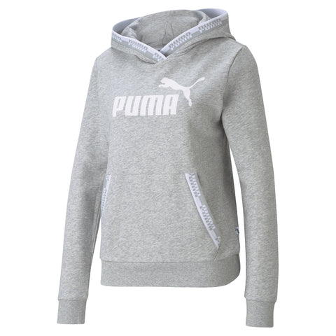 PUMA WOMEN'S AMPLIFIED GREY HOODIE