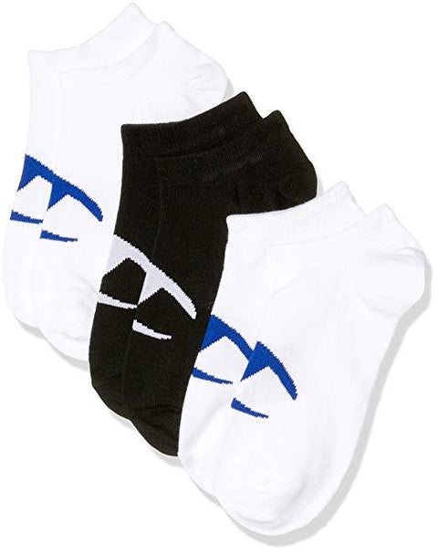 CHAMPION MEN'S LOW CUT BLACK & WHITE SOCKS (3 PACK)