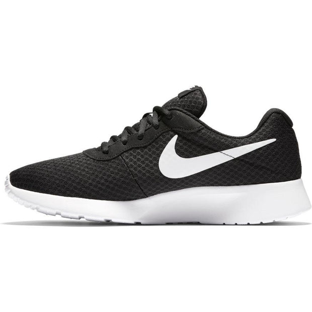 NIKE MEN'S TANJUN BLACK WHITE SHOE