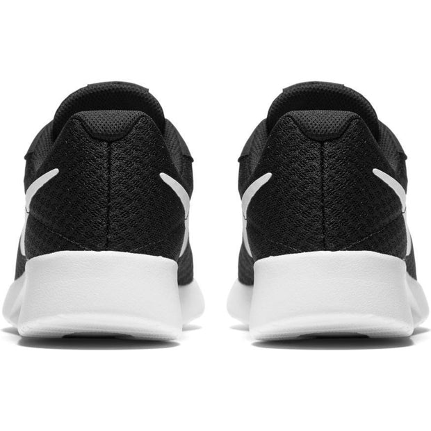 NIKE WOMEN'S TANJUN CASUAL BLACK WHITE SHOES