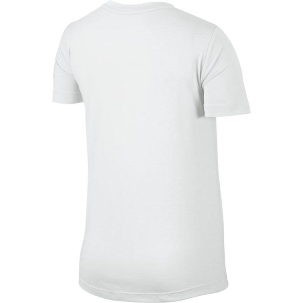 NIKE WOMEN'S SPORTSWEAR ESSENTIAL WHITE T-SHIRT