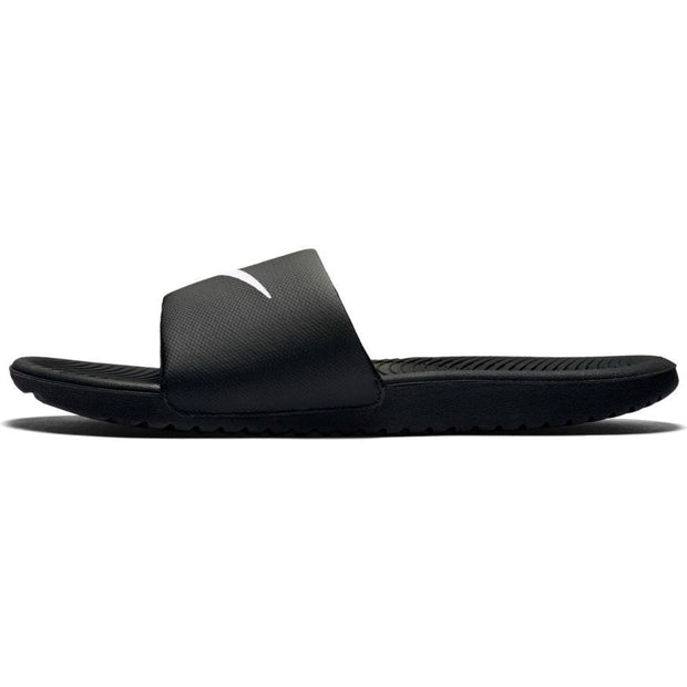 NIKE MEN'S KAWA SLIDE BLACK SLIDES