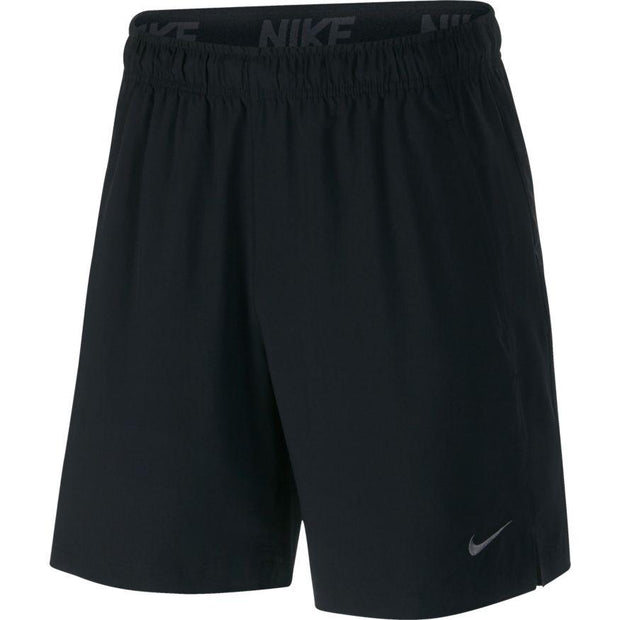 NIKE MEN'S FLEX TRAINING BLACK SHORTS