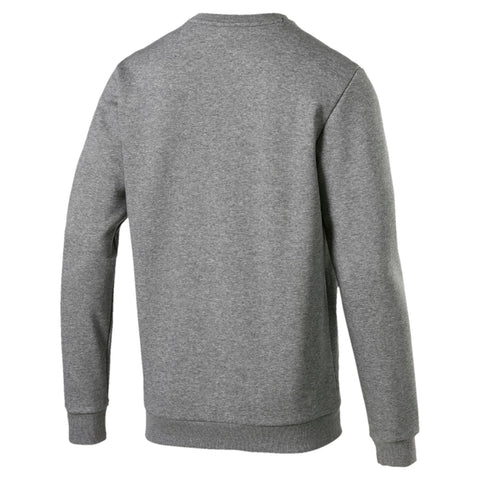 PUMA MEN'S ESSENTIALS FLEECE CREW NECK GREY SWEATSHIRT