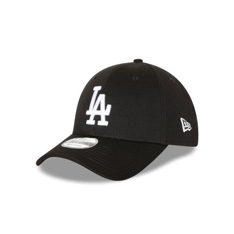 NEW ERA LOS ANGELES DODGERS BLACK 9FORTY CAP