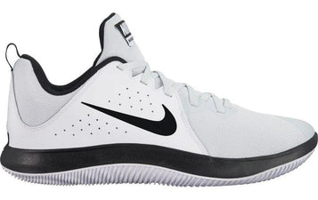 NIKE MEN'S  FLY.BY LOW BASKETBALL WHITE SHOE