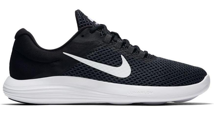 NIKE MEN'S LUNARCONVERGE 2 BLACK RUNNING SHOE