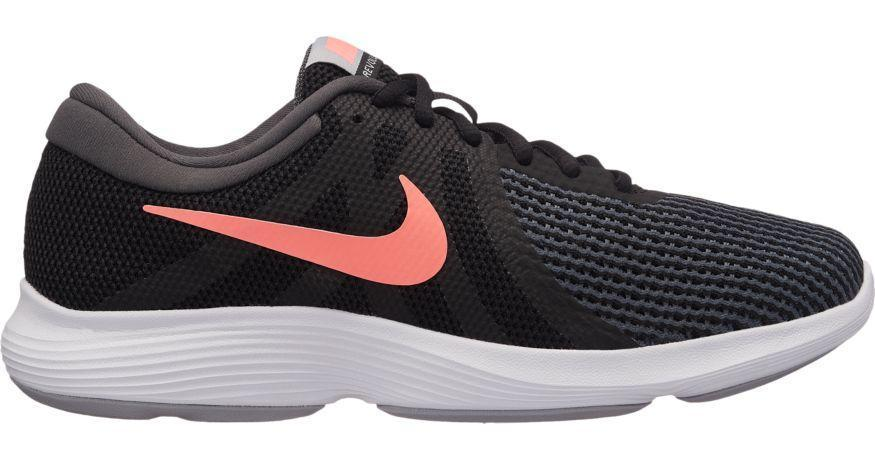 NIKE WOMEN'S REVOLUTION 4 RUNNING BLACK SHOE