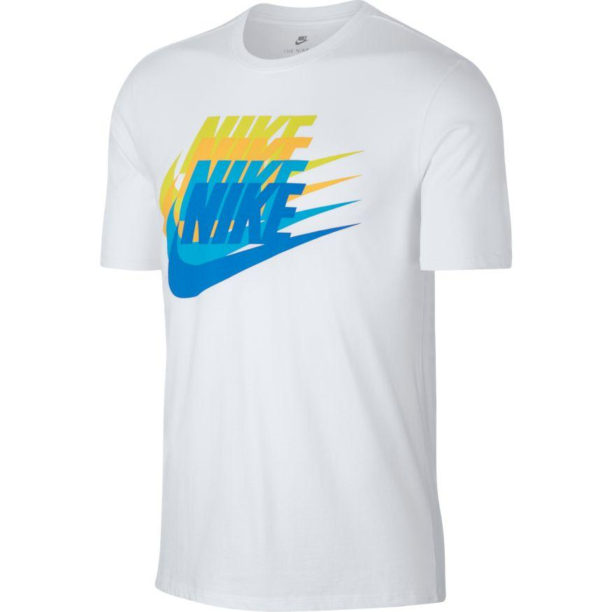 NIKE MEN'S SPORTWEARS GRAPHIC CONCEPT WHITE T-SHIRT