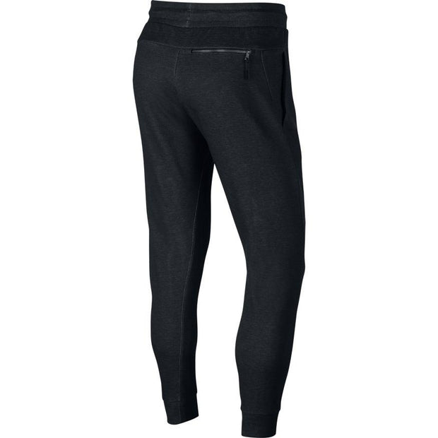 NIKE MEN'S SPORTSWEAR OPTIC BLACK JOGGERS