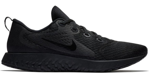 NIKE MEN'S LEGEND REBEL REACT TRIPLE BLACK RUNNING SHOE