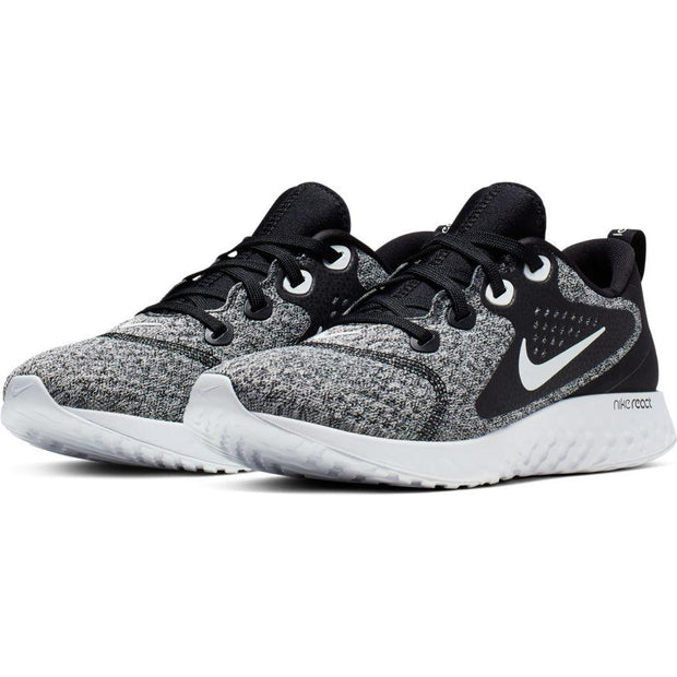 NIKE WOMEN'S LEGEND REACT BLACK GREY RUNNING SHOE