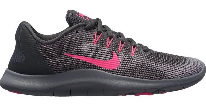 NIKE FLEX RN 2018 WOMEN'S RUNNING GREY SHOE