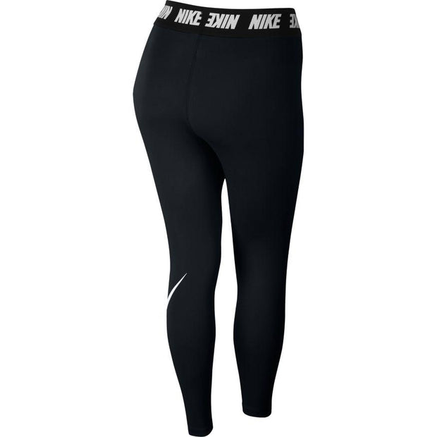 NIKE WOMEN'S SPORTSWEAR CLUB HIGH-RISE BLACK LEGGINGS