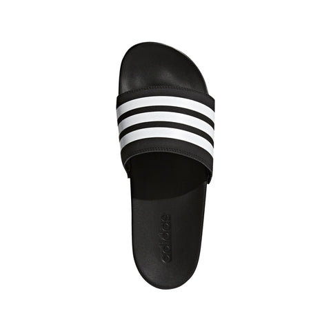 ADIDAS MEN'S ADILETTE COMFORT BLACK SLIDES