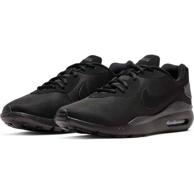NIKE MEN'S AIR MAX OKETO TRIPLE BLACK SHOES