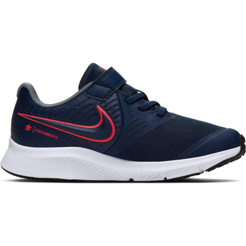 NIKE TODDLER'S STAR RUNNER 2 NAVY SHOE