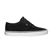 VANS MEN'S ATWOOD BLACK CANVAS SHOES