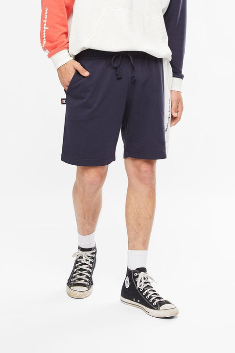 CHAMPION MEN'S FOR THE TEAM NAVY/WHITE SHORTS
