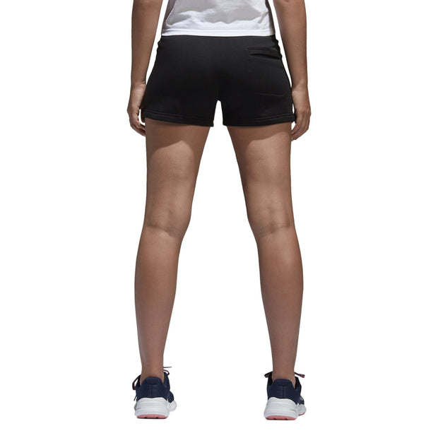 ADIDAS WOMEN'S ESSENTIALS SOLID BLACK SHORTS - INSPORT
