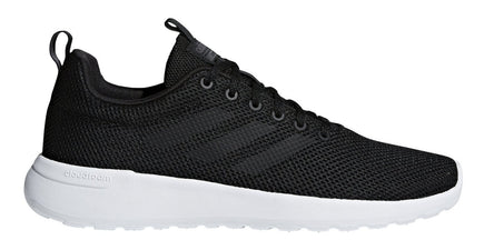 ADIDAS MEN'S ESSENTIALS LITE RACER CLN BLACK/WHITE SHOES - INSPORT