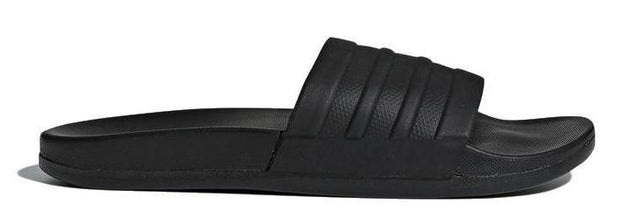 ADIDAS WOMEN ADILETTE CLOUDFOAM PLUS MONO BLACK SLIDES - INSPORT