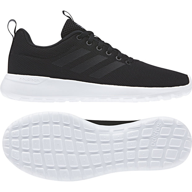ADIDAS WOMEN'S ESSENTIALS LITE RACER CLN BLACK/WHITE SHOES - INSPORT