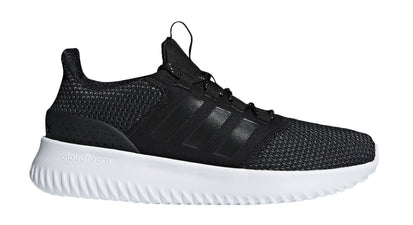 ADIDAS MEN'S CLOUDFOAM ULTIMATE BLACK/WHITE SHOES - INSPORT