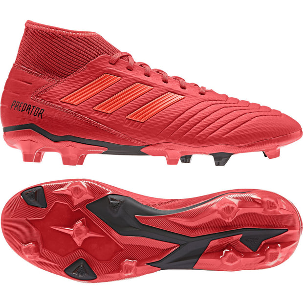 1db157f449e ADIDAS MEN S SOCCER PREDATOR 19.3 FIRM GROUND RED CLEATS – INSPORT