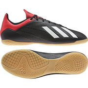 ADIDAS MEN'S FOOTBALL X 18.4 BLACK RED BOOTS