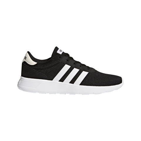 ADIDAS MEN'S LITE RACER BLACK SHOES