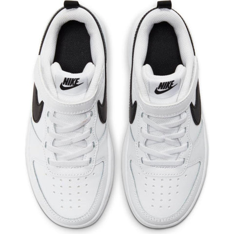 NIKE TODDLER'S COURT BOROUGH LOW 2 WHITE SHOE