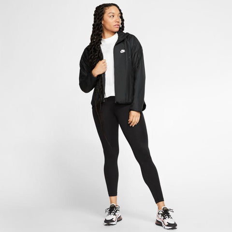 NIKE WOMEN'S SPORTSWEAR WINDRUNNER BLACK JACKET