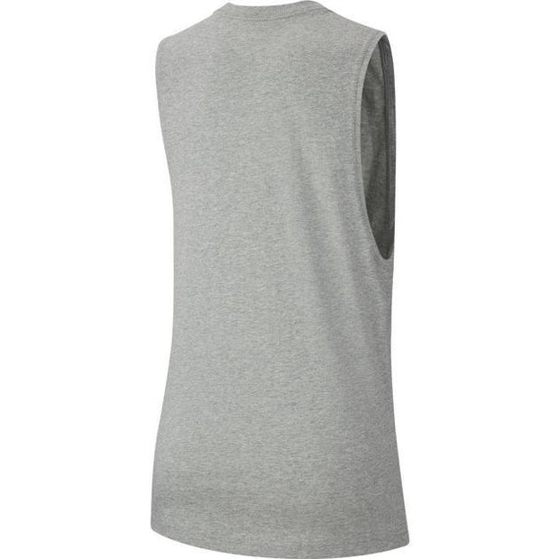 NIKE WOMEN'S SPORTSWEAR ESSENTIAL GREY TANK