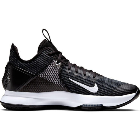 NIKE UNISEX LEBRON WITNESS 4 BLACK BASKETBALL SHOE