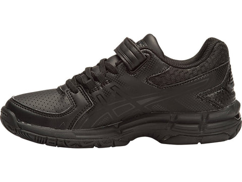 ASICS JUNIOR GEL-540TR PS LEATHER BLACK SHOES - INSPORT