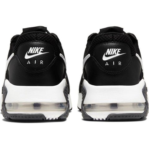 NIKE MEN'S AIR MAX EXCEE BLACK/WHITE SHOES