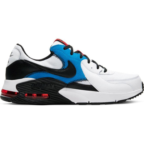 NIKE MEN'S AIR MAX EXCEE WHITE/RED/BLUE SHOES