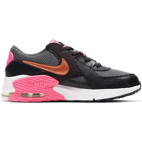 NIKE TODDLER'S AIR MAX EXCEE BLACK/PINK SHOE