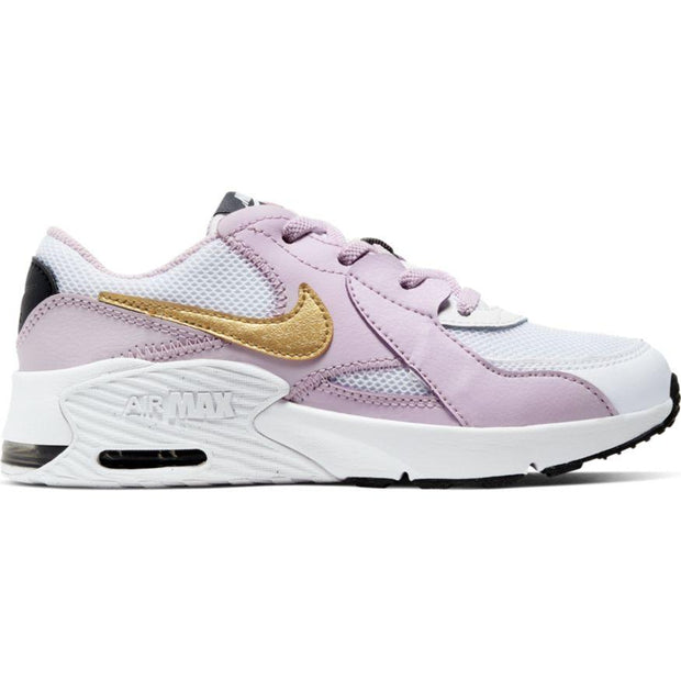NIKE KID'S AIR MAX EXCEE WHITE LILAC SHOE