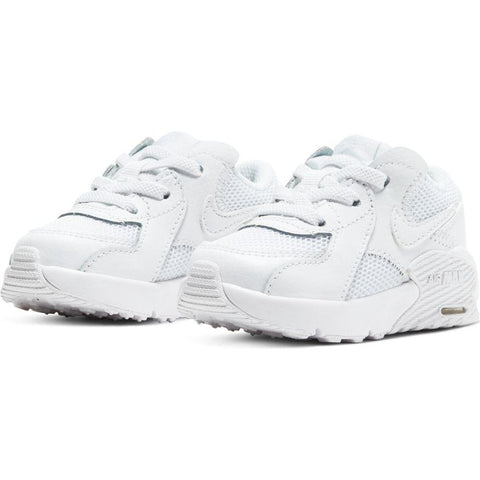 NIKE INFANT'S AIR MAX EXCEE TRIPLE WHITE SHOE