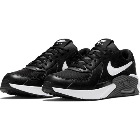 NIKE JUNIOR AIR MAX EXCEE BLACK WHITE SHOES